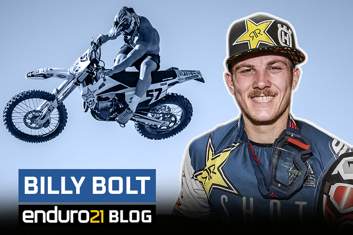 Blog: Billy Bolt focused on Romaniacs