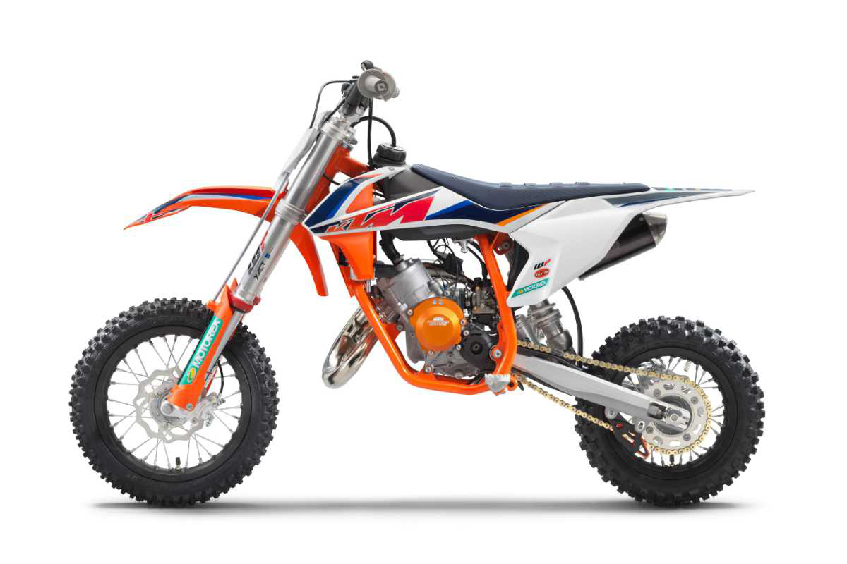 First Look: 2021 KTM 50 SX Factory Edition