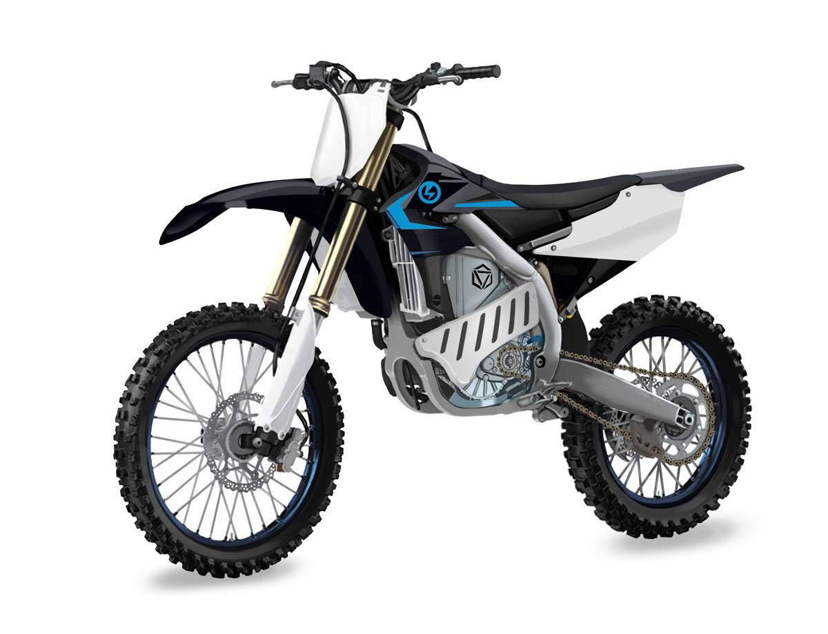 First look: Yamaha YZ250F electric prototype