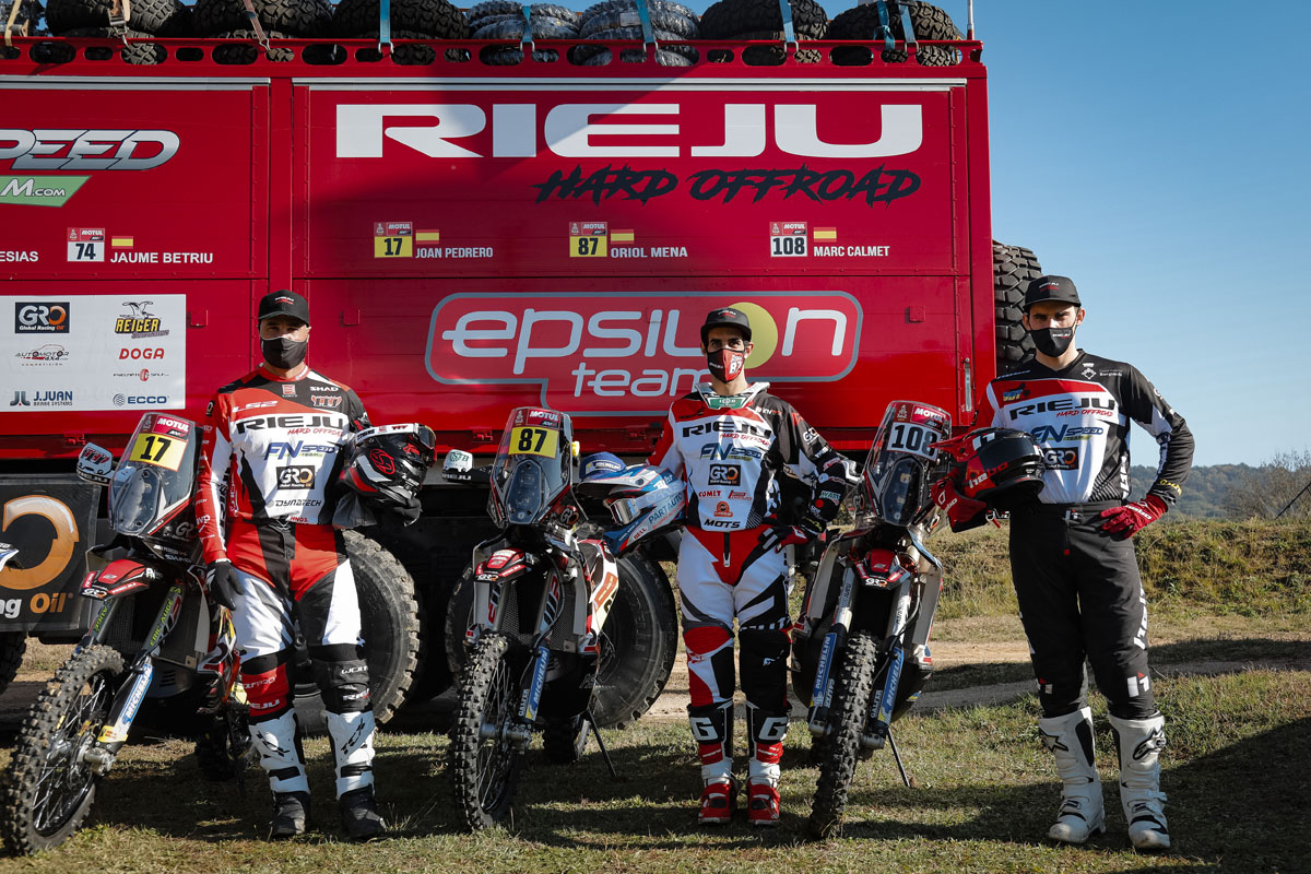 5 minutes: Àlex López - Commercial Director of Rieju talks Dakar, new models and racing