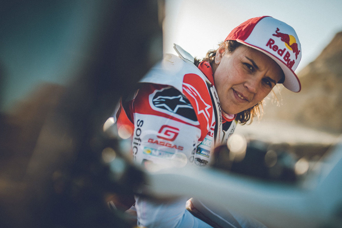 "5 minutes: ""I want to finish Erzbergrodeo once in my life"" – Laia Sanz"