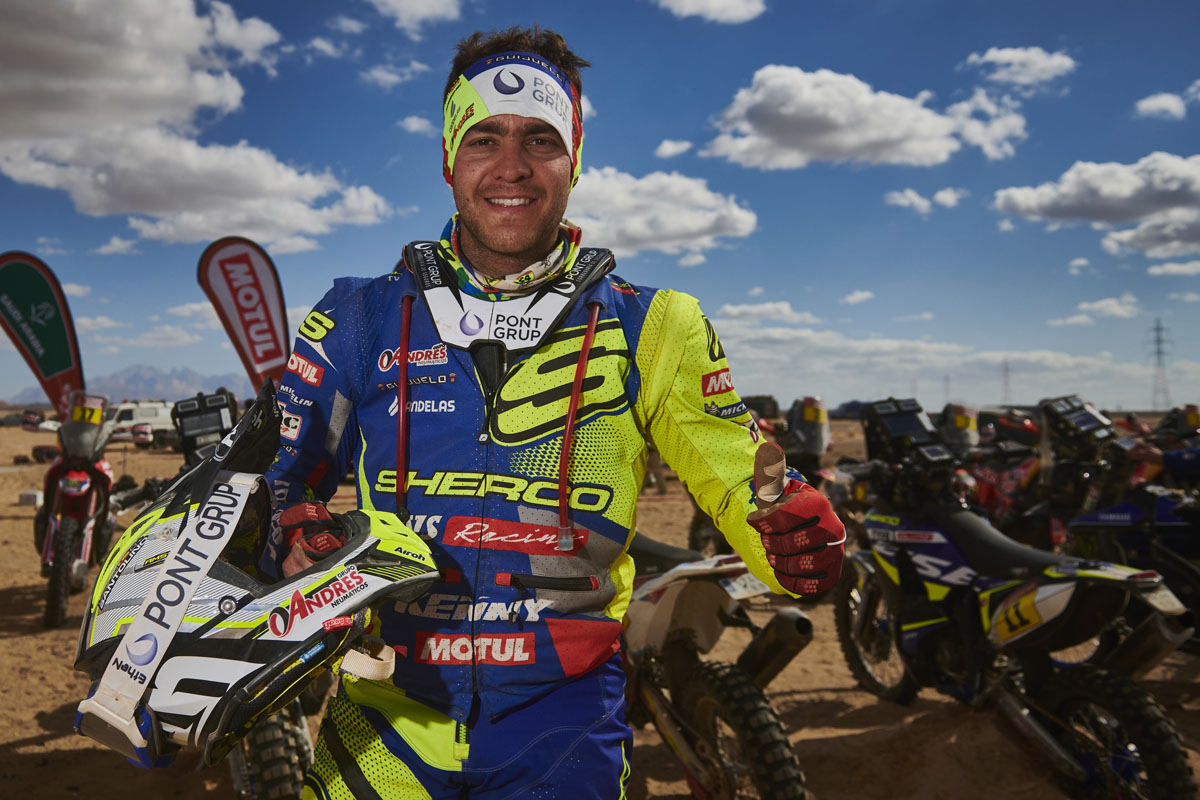 "5 minutes with: Lorenzo Santolino ­– ""Sherco has found its place in the rally scene"""