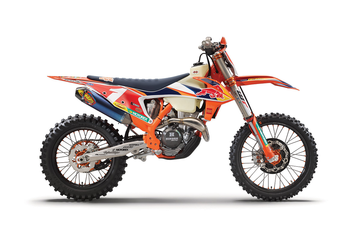 First look: KTM 350 XC-F Kailub Russell special edition