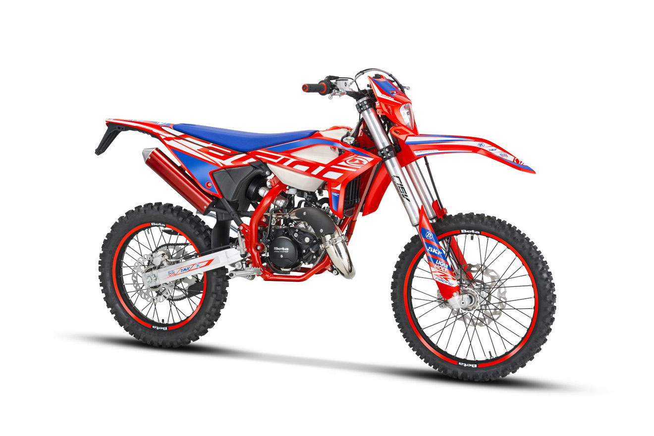 First look: all-new Beta RR 50cc two-stroke Enduro models