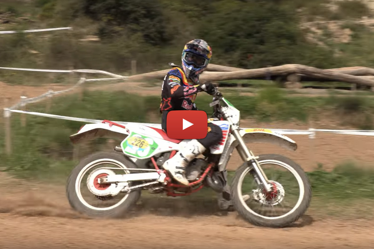 Vintage Enduro: Spanish Classic Festival highlights featuring Josep Garcia on a 1990 KTM 125