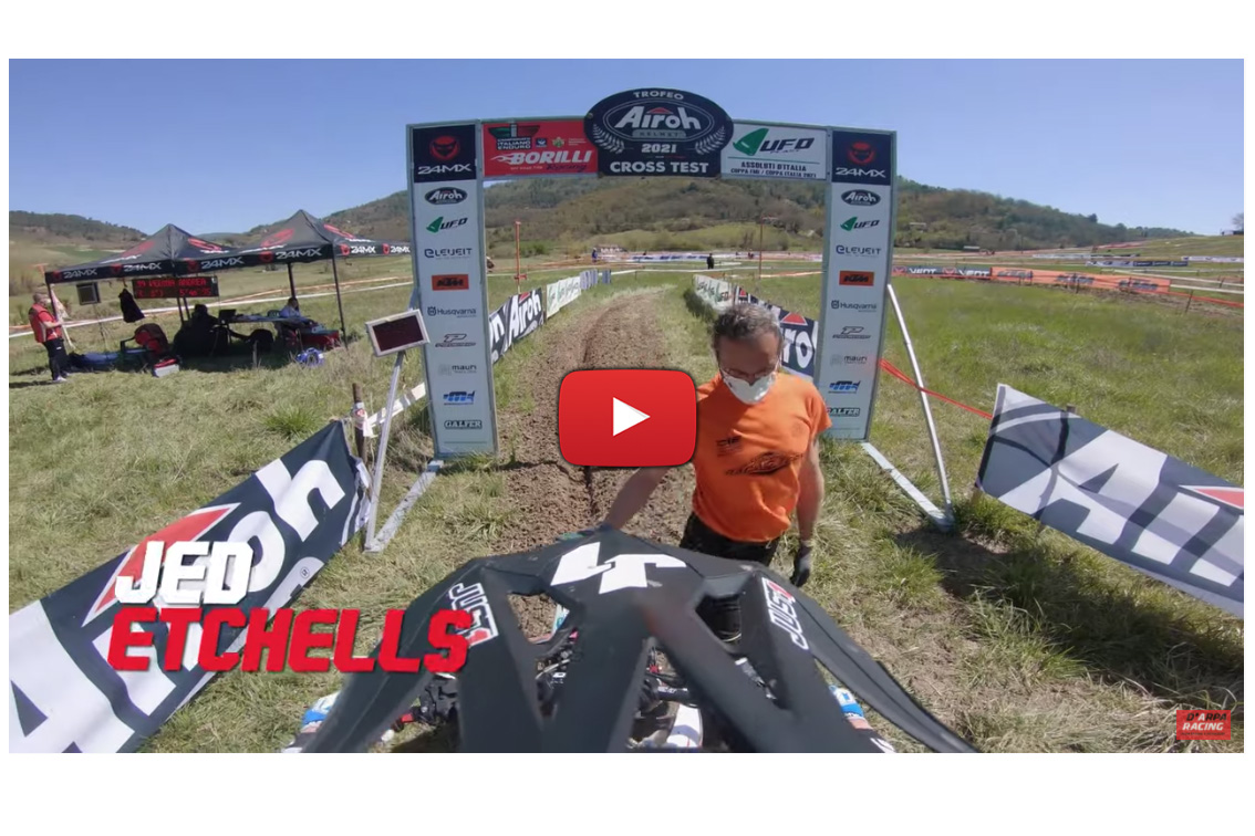 Italian Enduro: Grass Cross test onboard a Fantic XEF 250 with Jed Etchells
