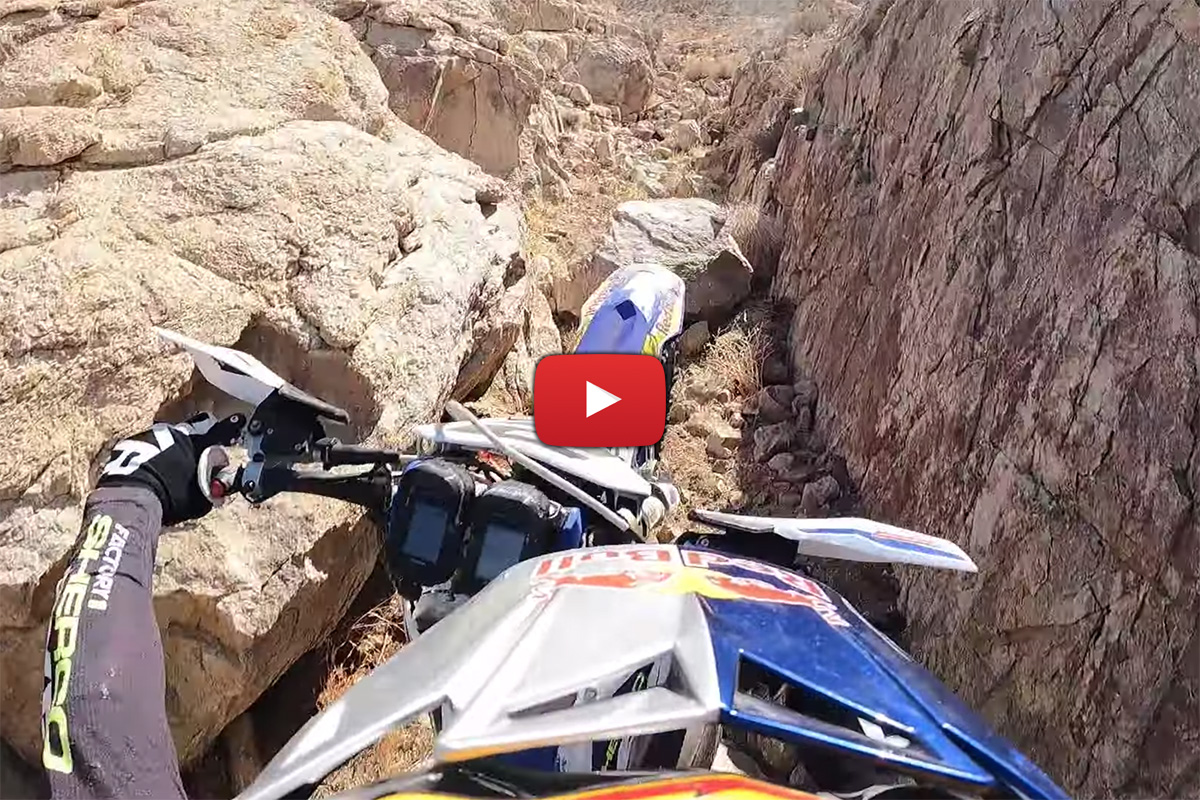 King of the Motos 2021: Onboard de Cody Webb entrenando – ¡Bajadas de vértigo!