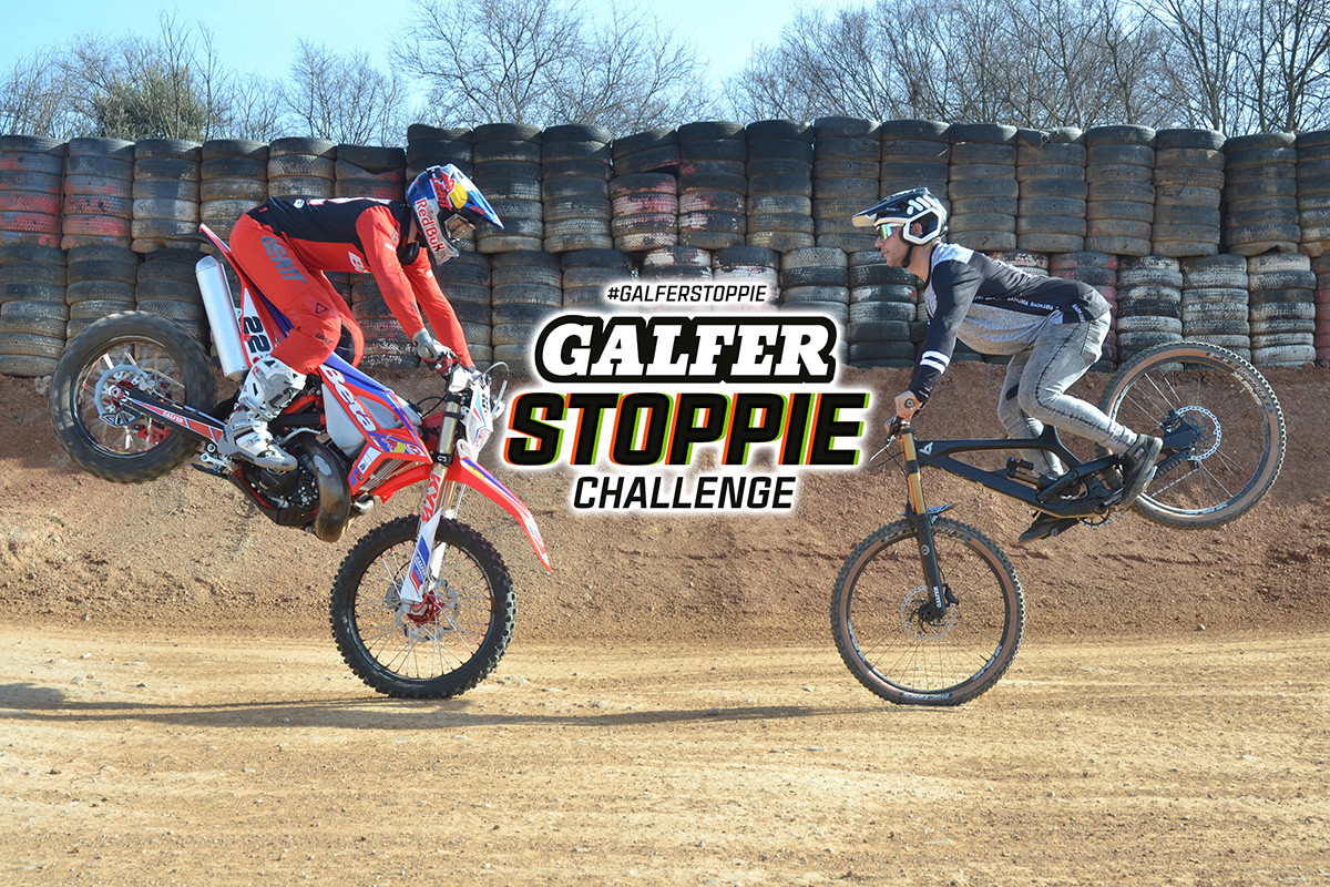 Take the #GALFERSTOPPIE Challenge – win new brake parts for your bike