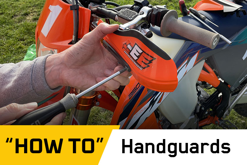 How To: Fit Enduro Engineering perch-mounted handguards