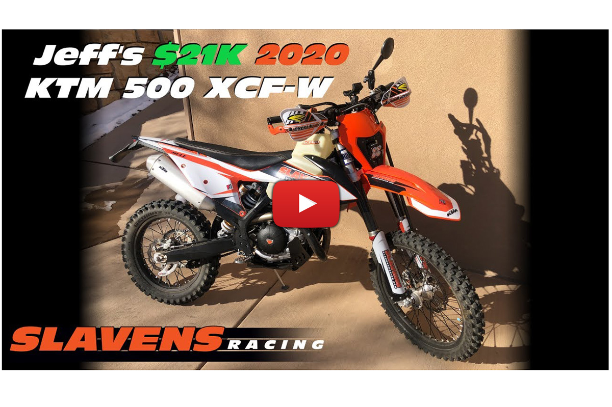 Is this $21,000 KTM 500 XCF-W the perfect trail bike build?