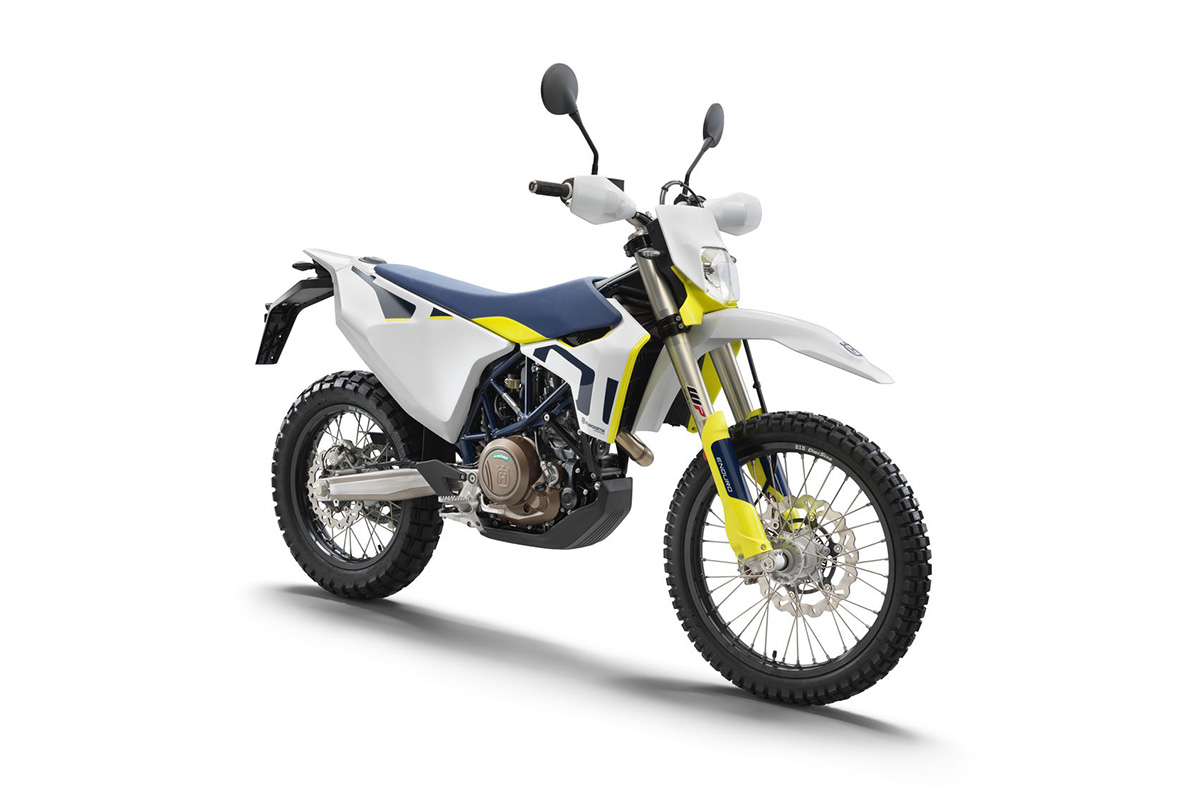 First look: 2021 updates for Husqvarna Motorcycles' 701 Enduro