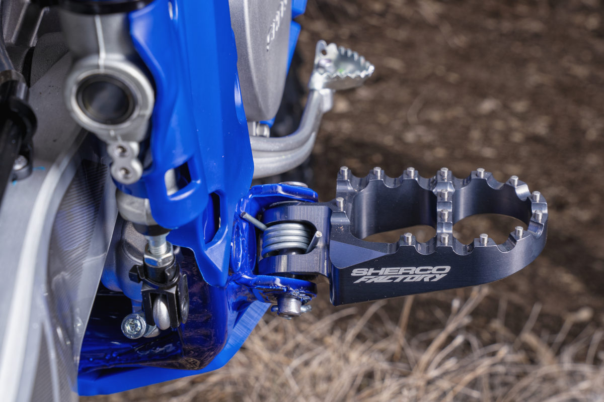 Primera impresión: Sherco Racing Parts